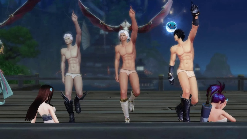 Revelation- приключение трёх голых мужиков в Сулане