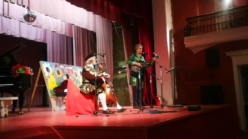 Рождественский концерт, выступают Владимир Щукин и Дмитрий Ключев