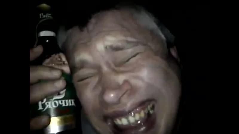 Дубль у меня не вышел Я решил сыграть Пьяного мужика Но я смеюсь ржу гогочу у меня рябчик -- Геннадий Горин