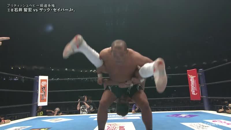 NJPW Wrestle Kingdom 13 2019 - Tomohiro Ishii vs Zack Sabre Jr.