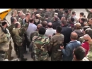 President Bashar al-Assad visited troops on the frontline in Eastern Ghouta 總統巴沙爾·阿薩德探訪在東古塔前線的部隊