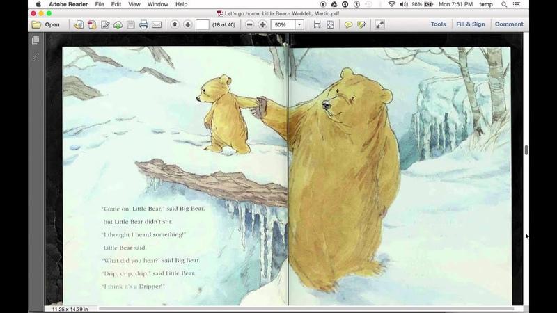 Let's Go Home, Little Bear (read aloud)
