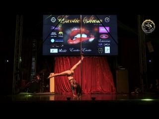 Exotic show 2018 ,Кристина Шарм,2 место в категории