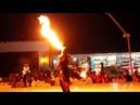 Amazing Fire Dance Performance at a Desert Safari Camp