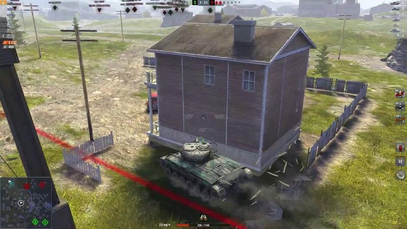 WoT Blitz 03.10.2018 г. - отличный бой на Т23Е3 - turukmankto рулит. ОГОНЬ!