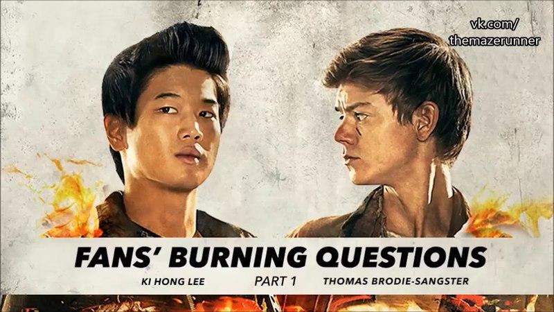Вопрос-ответ с Томасом Сангстером и Ки Хонг Ли
