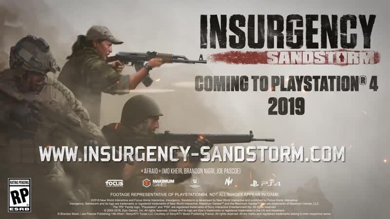 Insurgency Sandstorm - Prepare for Battle Trailer ¦ PS4
