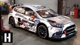 0-60mph in Under 2 Seconds! Under the Hood of the 600hp AWD Ford Focus RS RX Rallycross Car
