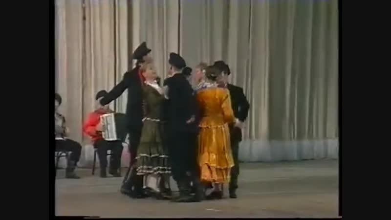 Концерт ансамбля Игоря Моисеева (Часть I)
