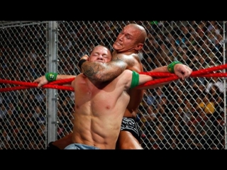 (WWE Mania) Hell in a Cell 2009 John Cena(c) vs Randy Orton - WWE Championship ( Hrll in a Cell Match)
