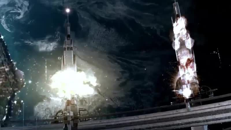 НЛО СБИЛА - ТГК Прогресс МС-10 с 7-ми камер с Космодрома Байконур 16 ноября 2018 г.
