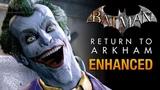 Batman Return to Arkham - 4K 60fps Gameplay Xbox One X Enhanced