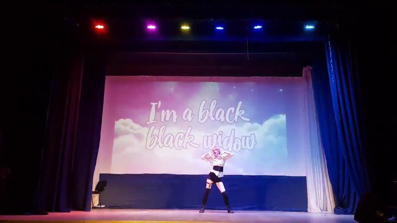 031118 Pristin - Black Widow (remix ver.) (dance cover by Lavi)