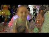 Видеоролик с бумажной дискотеки от АртХит в детском клубе