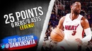 Dwyane Wade Full Highlights 2018.12.08 Heat vs Clippers - 25 Pts, 6 Rebs, 6 Asts! | FreeDawkins
