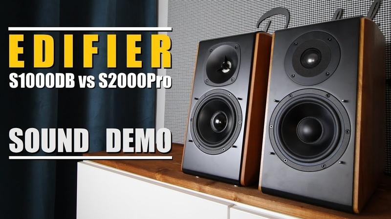 Edifier S2000 Pro vs Edifier S1000DB || Sound Demo w/Bass Test