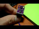 Датчик жестов APDS-9960. Обзор и подключение к Arduino.