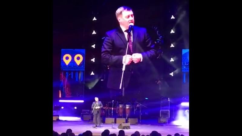 Мэр Новосибирска Анатолий Локоть и его странное выступление