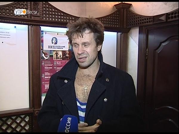 Театр Ленсовета представил спектакль «Гамлет» на Волковском фестивале