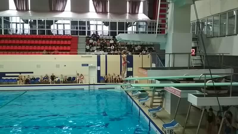 Доча. Открытый чемпионат и Первенство Челябинской области по прыжкам в воду с 3 метров (2)