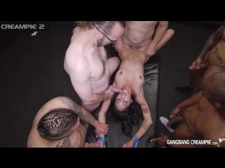 7 мужиков насилуют малолетку (Destiny, 1080, HD, 4k, инцест, куколд, минет, анал, gangbang, POV, сквирт porn, порно)