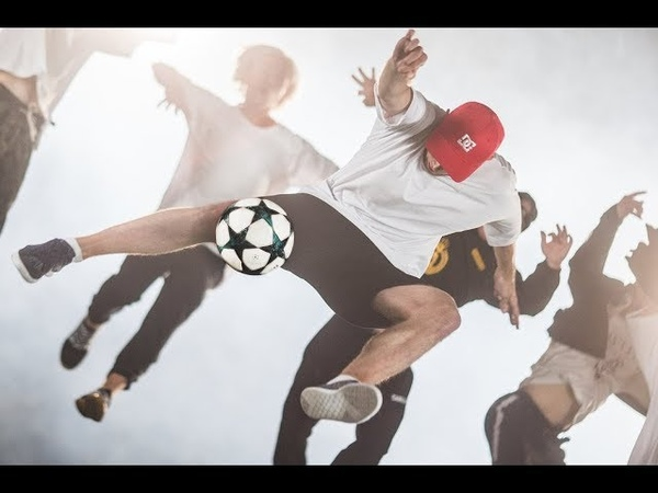 Football Freestyle vs Tricking - these legs are so FAST!