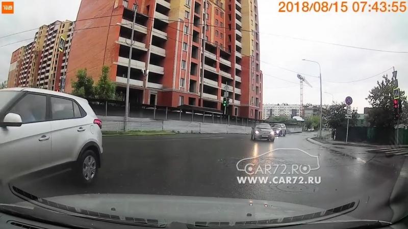 ДТП на перекрестке Челюскинцев - Герцена. 15.08.2018