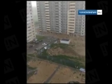 Ураган в Иваново _ Летает профильный забор