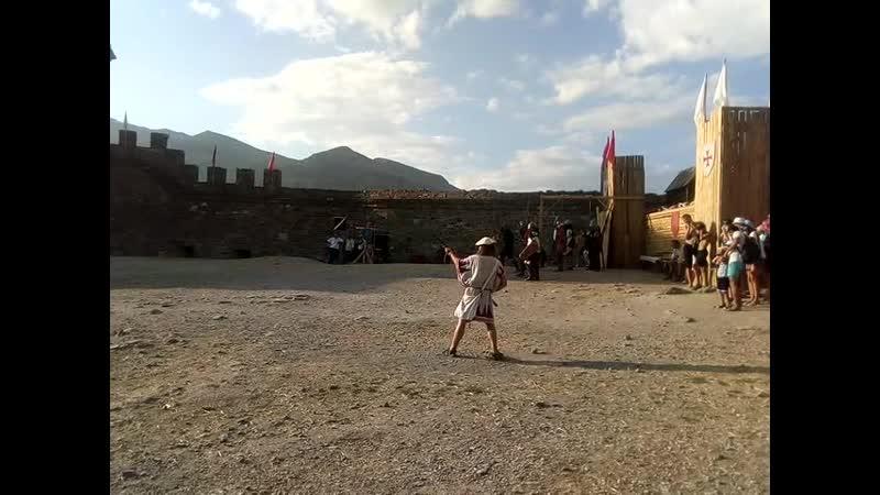 Рыцарские бои Генуэзская крепость Судак