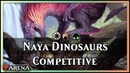 Dinosaur Naya Stompy Guilds of Ravnica Competitive Deck Magic Arena