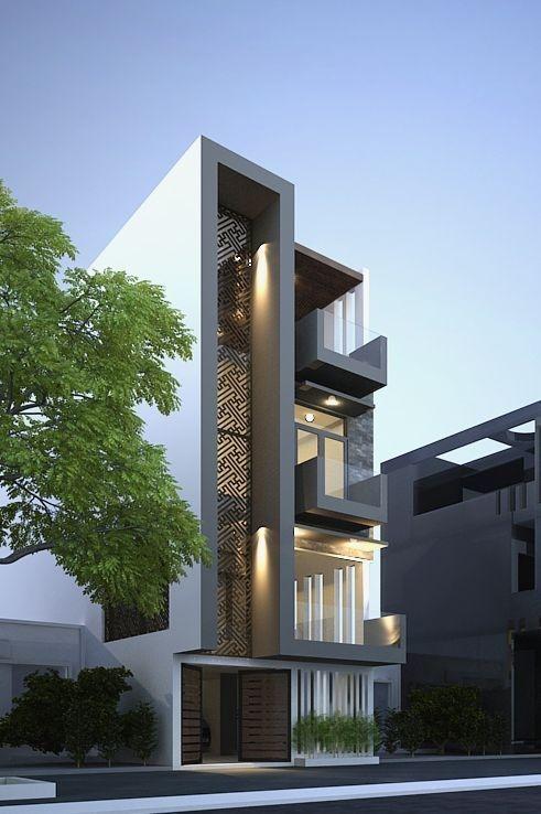 Современные фасады