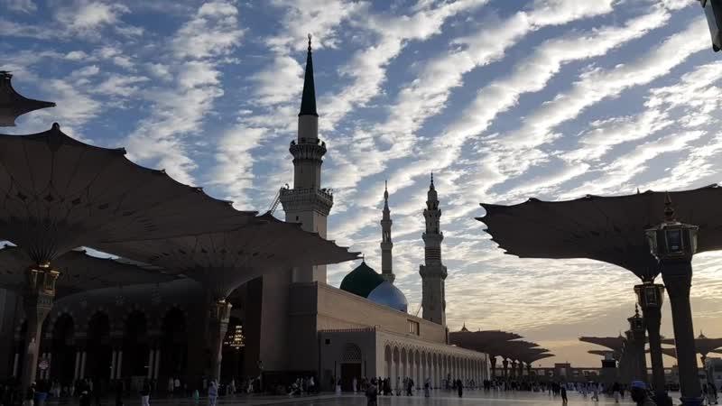 أمواج الغمام على مسجد خير الأنام صلى الله عليه وسلم