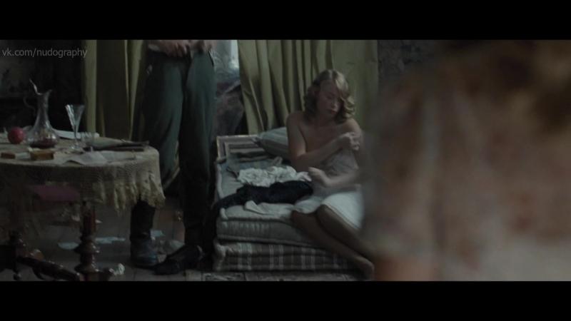 Голая неизвестная в фильме Французская сюита (Suite Francaise, 2014, Сол Дибб) HD 1080p