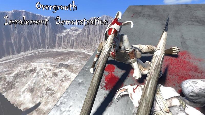 Overgrowth - Impalement Mechanic Demonstration