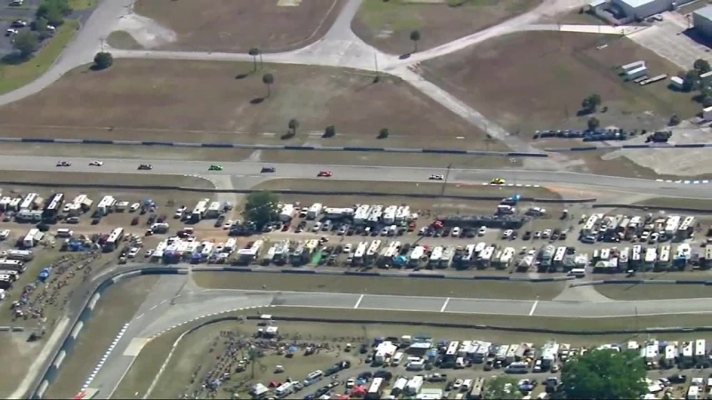 United Sportcars 2018. Round 2. Sebring. Race [Part 1/6]