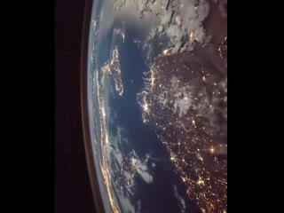 Облет Земли с Международной космической станции. NASA