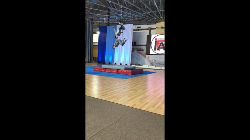 Анжела Кулагина и Мария Баглай Международный фестиваль Elite 2018,Калининград