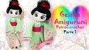 Amigurumi Geisha muñeca a crochet parte 1 5