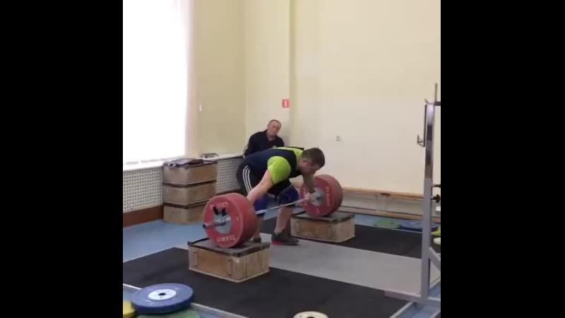 Андрей Арямнов - рывок 170 на 3