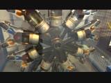 Принцип работы радиального двигателя.