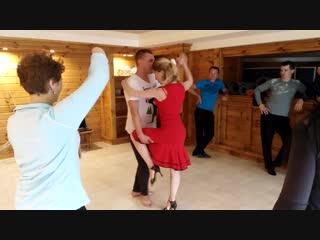 Танцы для Взрослых! ТАНГО в Школе Танца ЗЕМУНъ, Борисов - (фрагменты с летнего ТанцЛагеря, мастер-класс по Танго)