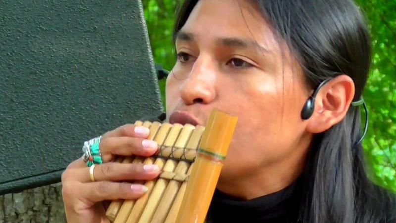Inka Purinan. Музыка индейцев. Alpa «Ecuador Spirit».