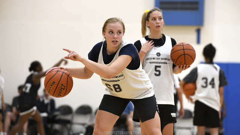 Hailey Van Lith turned some heads at JamalCrawford's Elite 30 Camp