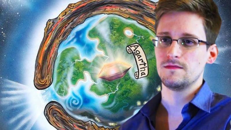 Edward Snowden Revela dados de Civilização Intra Terrena
