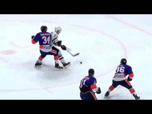 ВХЛ. СКА-Нева vs Челмет. 12ОТ. Лучшие моменты