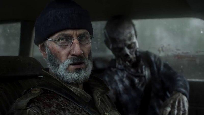 Трейлер The Walking Dead от Overkill с настоящим дедом в главной роли.