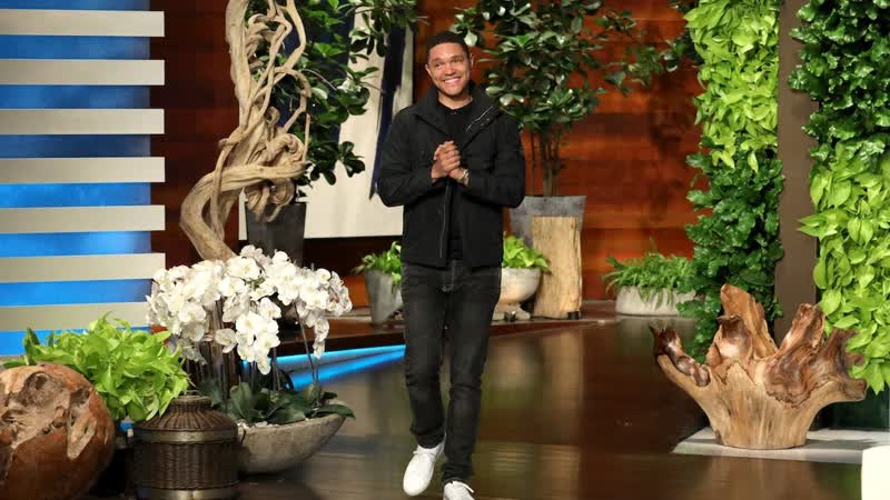 Trevor Noah Was Convinced Ellen Played a Wardrobe Prank on Him