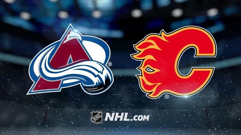 NHL 2018-19 / SC / WC / Round 1 / Game 5 / Colorado Avalanche - Calgary Flames / Altitude