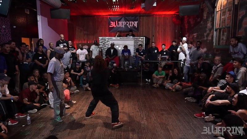 THE BLUEPRINT FESTIVAL 2018 - HOUSE DANCE COMP TOP 8 - BAMBINO VS FRANKIE J | Danceproject.info