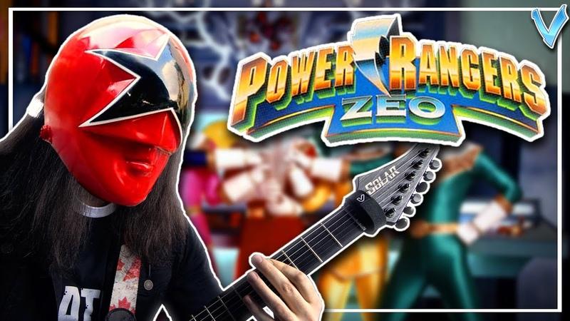 Power Rangers Zeo Theme [EPIC METAL COVER] (Little V)